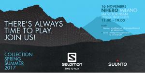 SALOMON - SUUUNTO PRESS DAY SS 2017